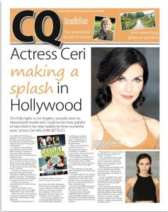 Ceri Bethan_CambrianNews